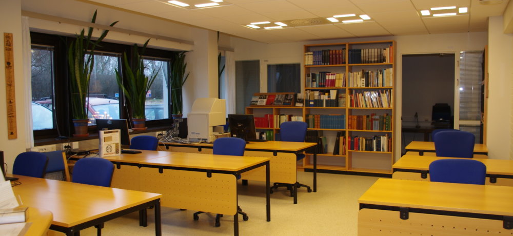 Our reading room