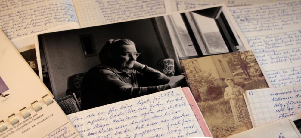 Privata handlingar ur Anni Blomqvists arkiv
