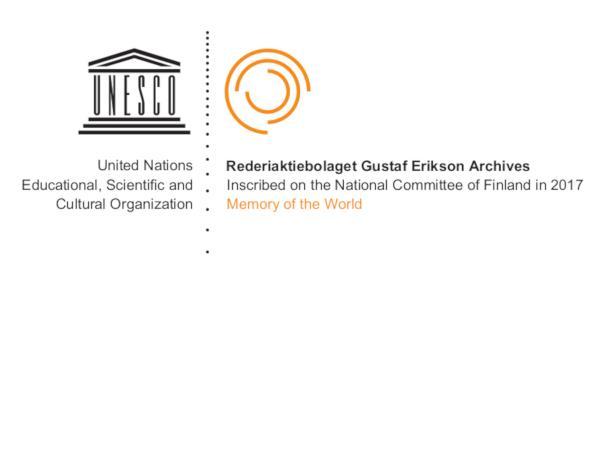 Unescos Världsminnesprogrammets logotyp